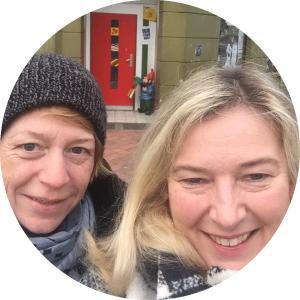 Claudia Seischab und Martina Klimaschefski